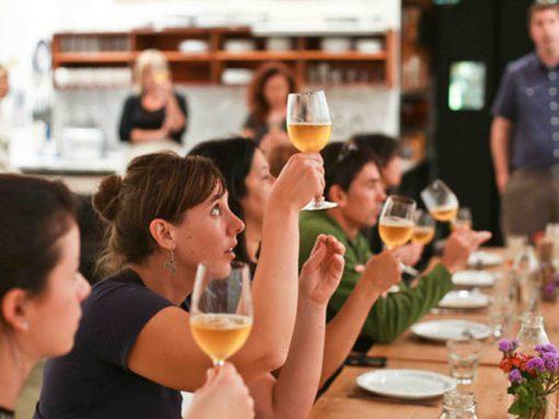 Laboratorio di analisi sensoriali sulle birre artigianali dei Monti Sibillini