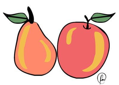 Le comunità locali recuperano i frutti antichi: Mela Rosa e Pera Angelica