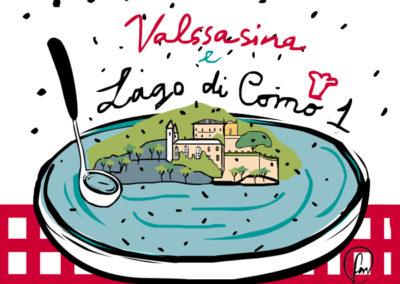 Tecniche e rivisitazione: finger food della tradizione del Lago di Como e della Valsassina