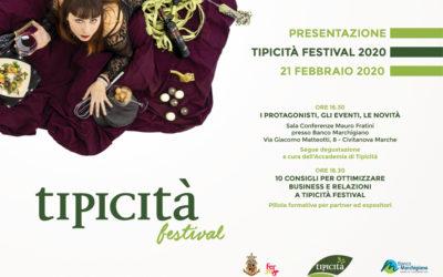 Presentazione Tipicità Festival 2020