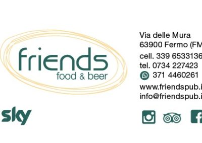 friends food and beer